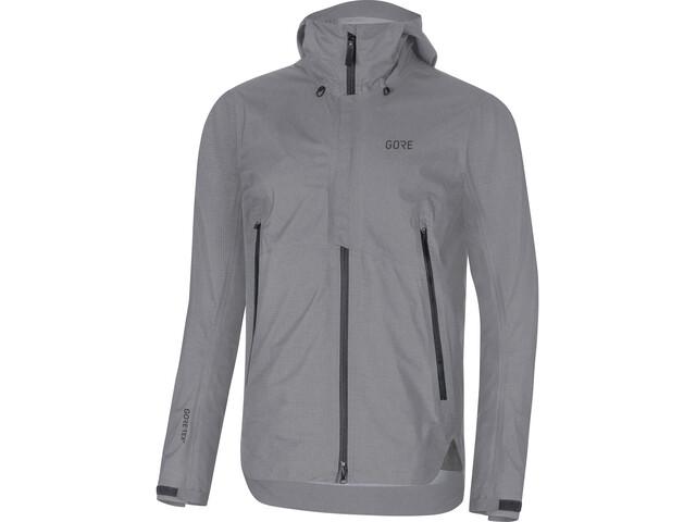 GORE WEAR H5 Gore-Tex Active Hooded Jacket Herre terra grey